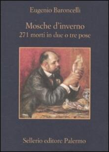Parcoarenas.it Mosche d'inverno. 271 morti in due o tre prose Image