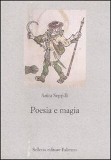 Poesia e magia - Anita Seppilli - copertina
