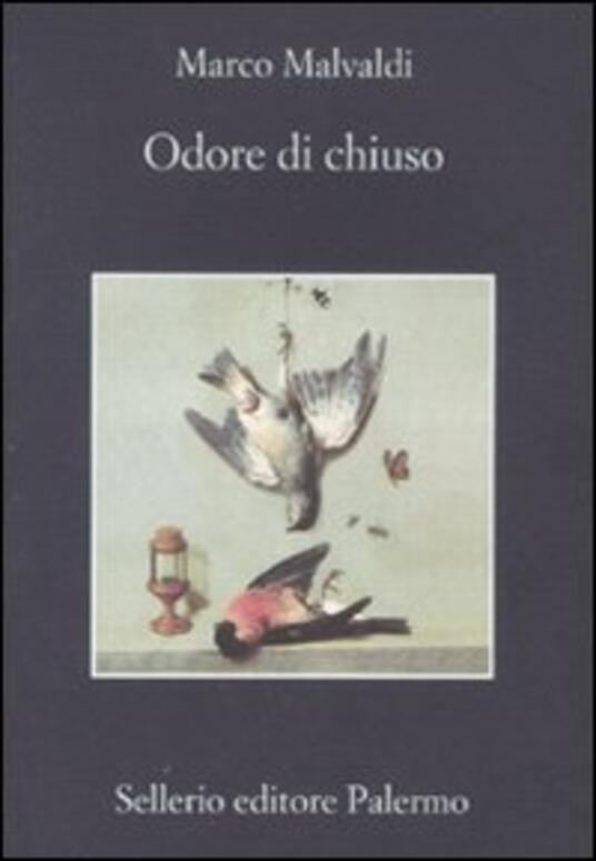 Odore di chiuso - Marco Malvaldi - copertina