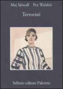Libro Terroristi Maj Sjöwall , Per Wahlöö