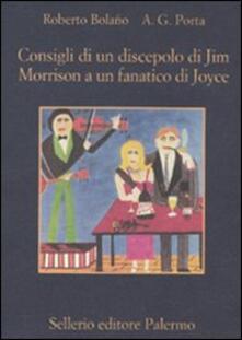 Lpgcsostenible.es Consigli di un discepolo di Jim Morrison a un fanatico di Joyce-Diario da bar Image