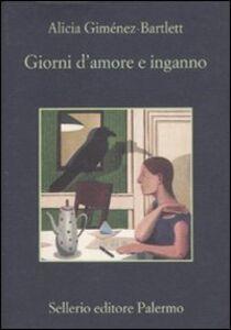 Libro Giorni d'amore e inganno Alicia Giménez Bartlett
