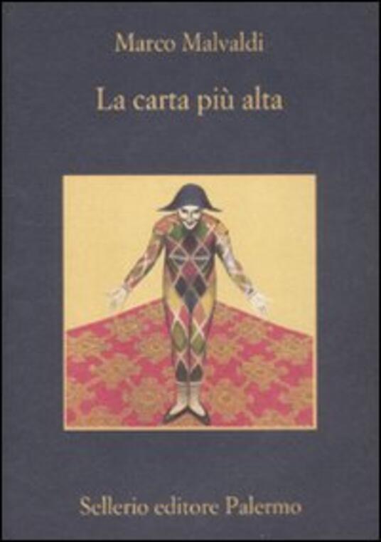 La carta più alta - Marco Malvaldi - copertina