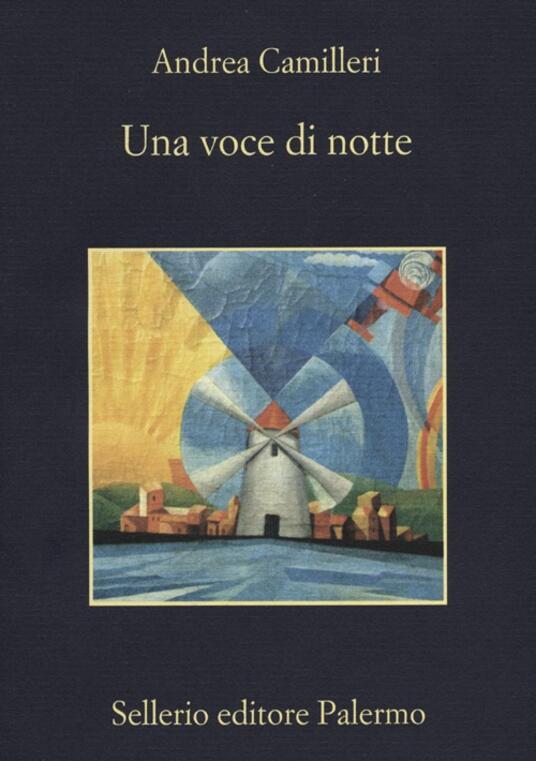 Una voce di notte - Andrea Camilleri - copertina