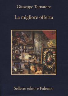La migliore offerta - Giuseppe Tornatore - copertina