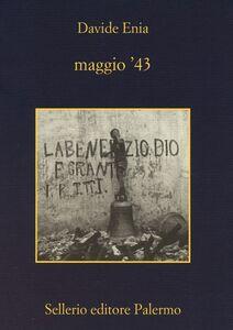 Libro Maggio '43 Davide Enia