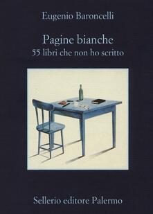 Daddyswing.es Pagine bianche. 55 libri che non ho mai scritto Image