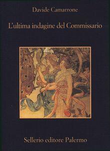 Libro L' ultima indagine del commissario Davide Camarrone