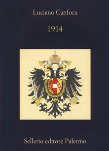 1914 - Luciano Canfora - copertina