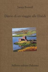 Libro Diario di un viaggio alle Ebridi James Boswell
