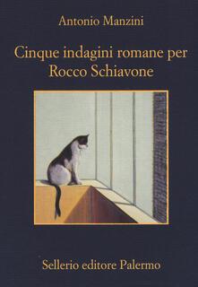 Radiospeed.it Cinque indagini romane per Rocco Schiavone Image