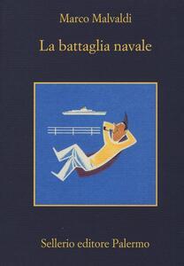 La battaglia navale - Marco Malvaldi - copertina