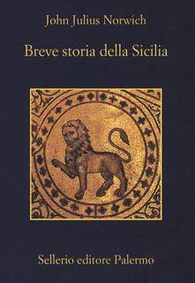 Breve storia della Sicilia - John Julius Norwich - copertina