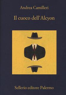 Il cuoco dell'Alcyon - Andrea Camilleri - copertina