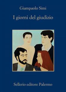 I giorni del giudizio - Giampaolo Simi - copertina