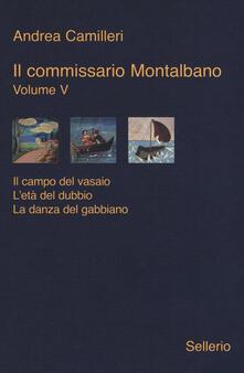Voluntariadobaleares2014.es Il commissario Montalbano: Il campo del vasaio-L'età del dubbio-La danza del gabbiano. Vol. 5 Image