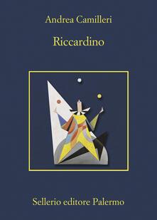 Riccardino - Andrea Camilleri - copertina