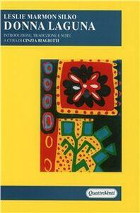 Libro Donna laguna Leslie M. Silko