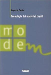 Tecnologia dei materiali tessili