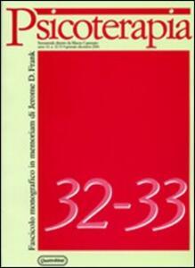 Psicoterapia vol: 32-33