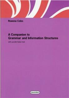Squillogame.it Companion to grammar and information structures. With parallel italian text (A) Image