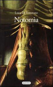 Libro Notomìa Luca Di Tommaso