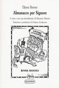 Libro Almanacco per signore Djuna Barnes