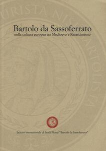 Libro Bartolo da Sassoferrato nella cultura europea tra Medioevo e Rinascimento