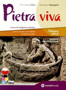 Adiaphora.it Pietra viva. Volume unico. Per la Scuola media. Con espansione online Image