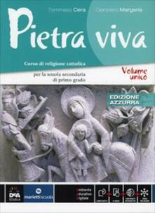 Camfeed.it Pietra viva. Ediz. azzurra. Per la Scuola media. Con e-book. Con espansione online Image