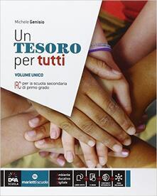 Voluntariadobaleares2014.es Un tesoro per tutti. Vol. unico. Per la Scuola media. Con e-book. Con espansione online Image