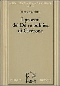 Libro I proemi del De republica di Cicerone Alberto Grilli