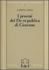 I proemi del De republica di Cicerone