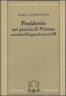 Posidonio nei Placita di Platone secondo Diogene Laerzio III.pdf