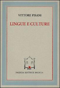 Lingue e culture