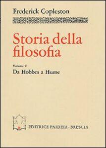 Storia della filosofia. Vol. 5: Da Hobbes a Hume.