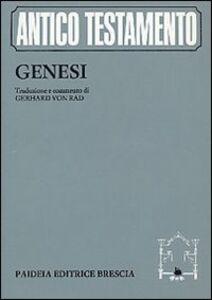 Libro Genesi Gerhard von Rad