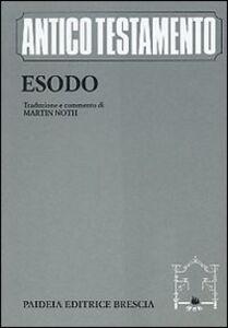Libro Esodo Martin Noth