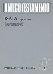 Isaia. Capitoli 40-66