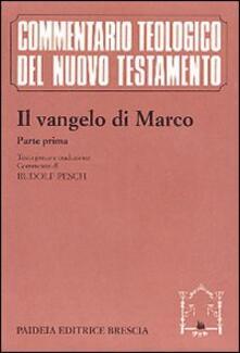 Antondemarirreguera.es Il Vangelo di Marco. Parte prima. Testo greco e traduzione. Introduzione e commento ai capp. 1, 1-8, 26 Image