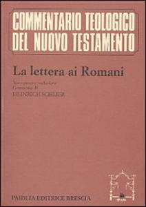 Libro La lettera ai romani Heinrich Schlier