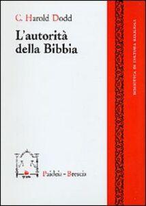 L' autorità della Bibbia