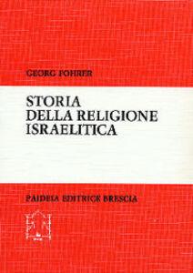 Storia della religione israelitica