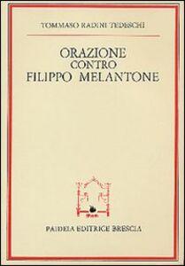 Orazione contro Filippo Melantone