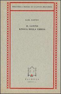 Il latino, lingua della Chiesa
