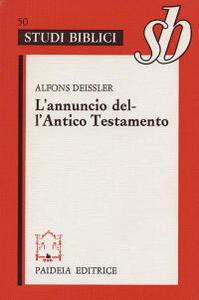 L' annuncio dell'Antico Testamento
