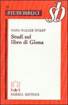 Premioquesti.it Studi sul libro di Giona Image