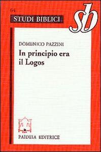 In principio era il Logos. Origene e il prologo del Vangelo di Giovanni