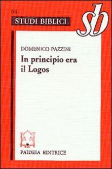 Winniearcher.com In principio era il Logos. Origene e il prologo del Vangelo di Giovanni Image