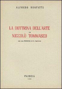 La dottrina dell'arte in Niccolò Tommaseo